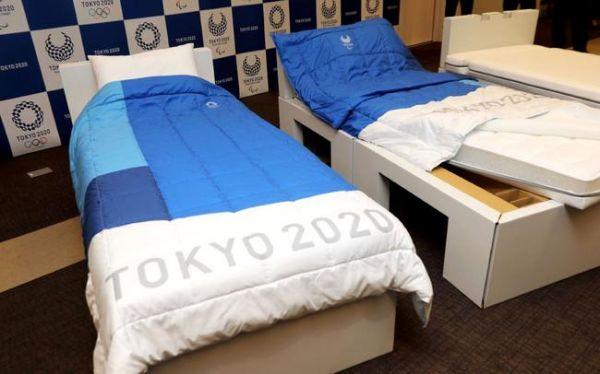 """东京奥运标配2.6万张""""纸床"""""""